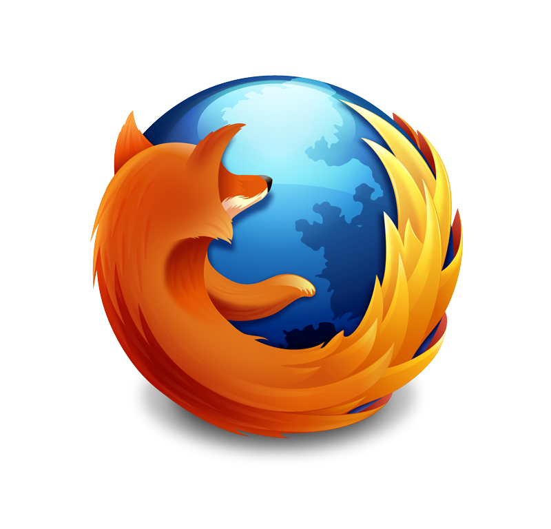 Click on the Firefox logo to download